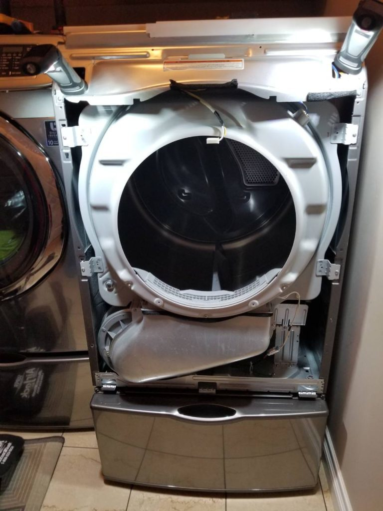 pulley dryer repair