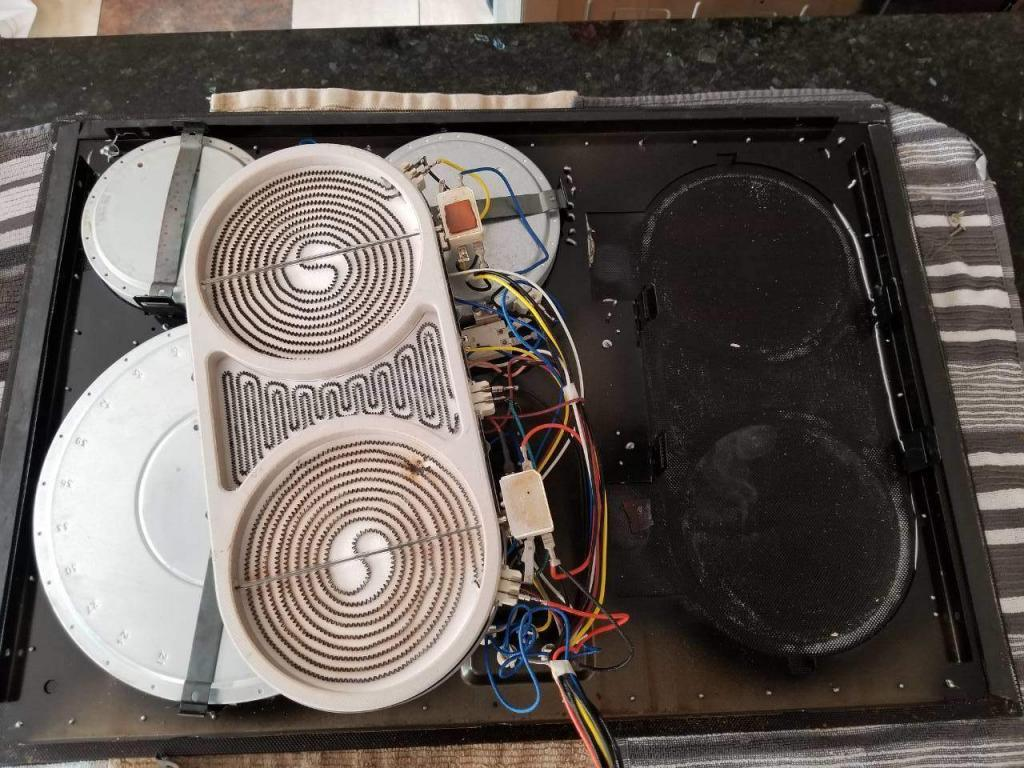 cooktop heating element replacement