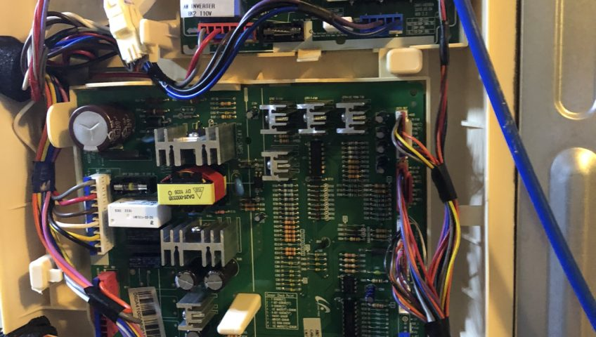 Electronic control board of the Refrigerator