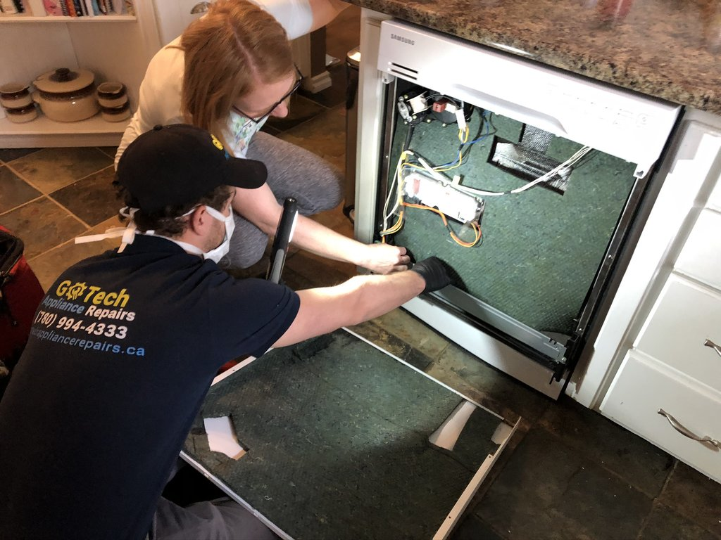Dishwasher Repair Edmonton - Calgary