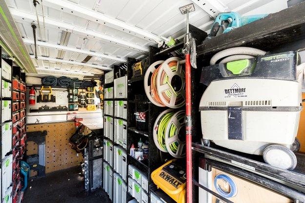 Spruce Grove Working Van