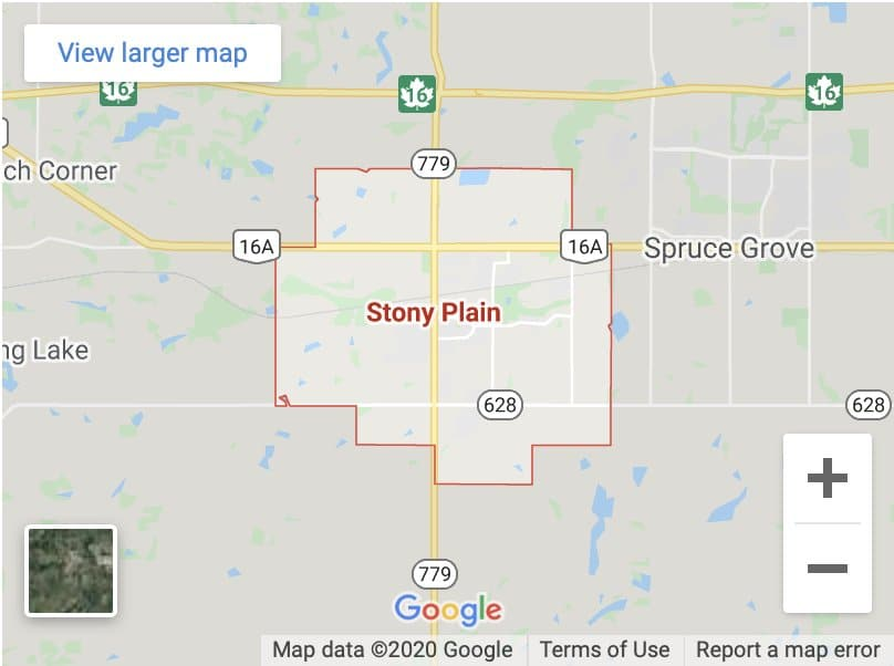 Stony Plain repair Location