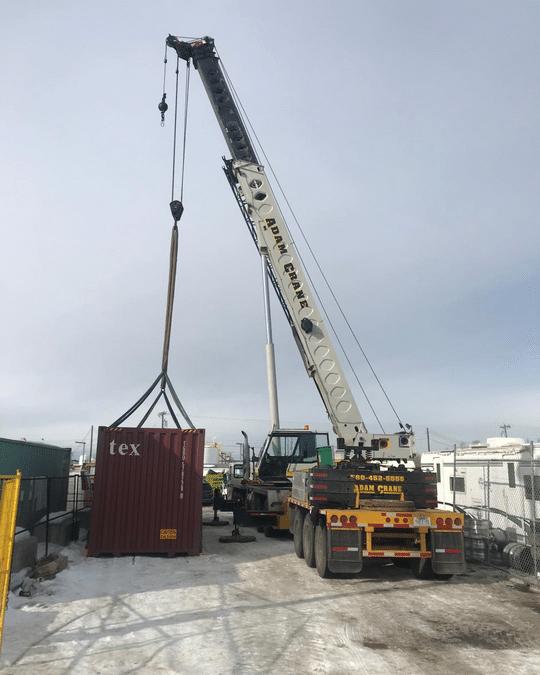 Crane service St Albert